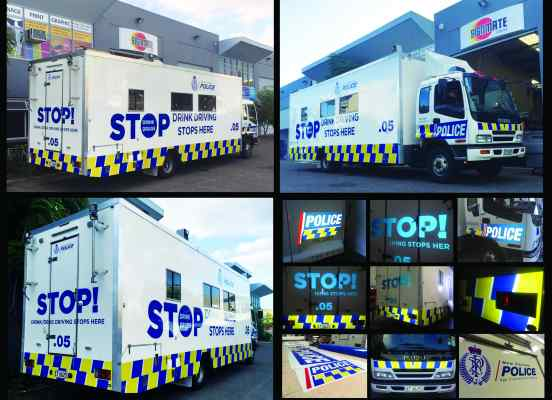 auckland police car graphic
