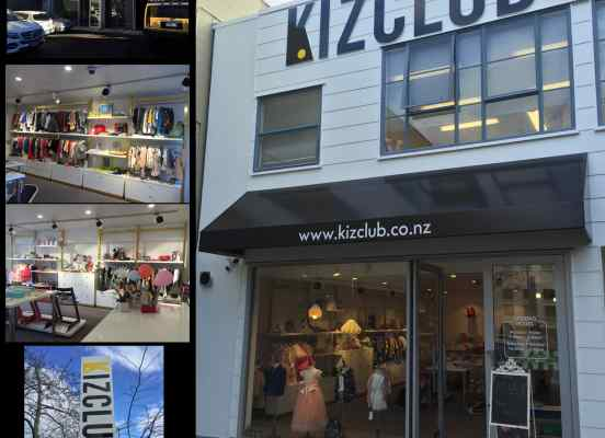 kizclub brand clothes shopfitting newmarket