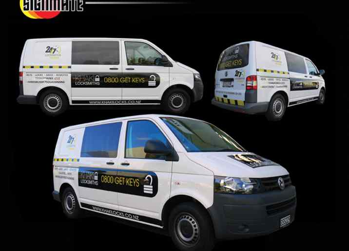 VW ute car commercial graphic, 3M vinyl cutting, full car wrapping, high quality digital print and cut, air release laminating