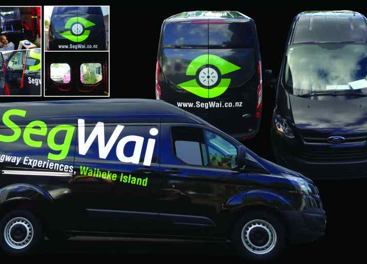 Segwai car warpping