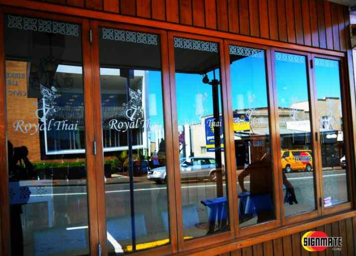 Window frosting & graphic, vinyl cutting, 3M frosting vinyl