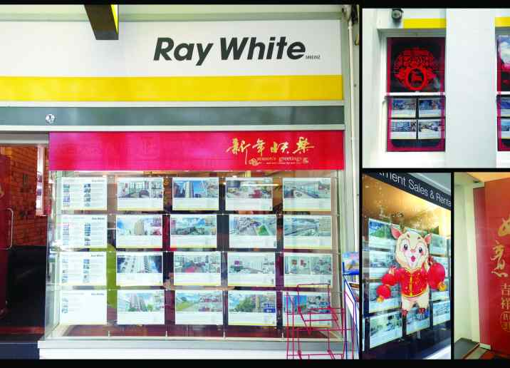 raywhite digital print window graphic