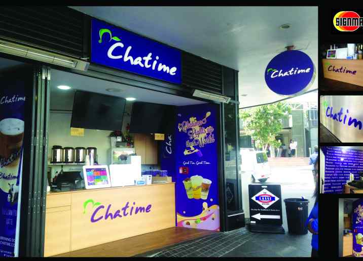 CHATTIME MILKTEA SHOPFITTING AUCKLAND CITY CENTER